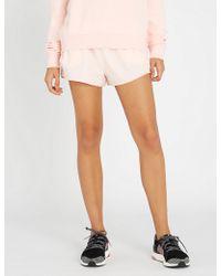 The Upside - Run Stretch-jersey Shorts - Lyst