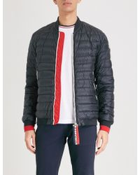 Moncler - Deneb Quilted Shell-down Bomber Jacket - Lyst