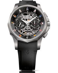 Corum - Admiral Legend 47 Chronograph Titanium Rubber Strap Automatic Watch - Lyst