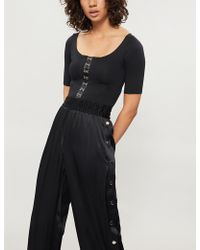 GOOD AMERICAN - Hook And Eye Stretch-jersey Body - Lyst