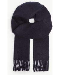 Paul Smith - Solid Cashmere Scarf - Lyst