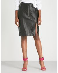 Altuzarra - Pollard Leather Pencil Skirt - Lyst