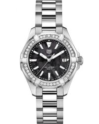 Tag Heuer - Way131p.ba0748 Aquaracer Stainless Steel And Diamond Watch - Lyst