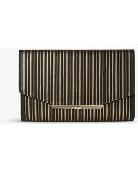 L.K.Bennett - Zadie Striped Leather Shoulder Bag - Lyst
