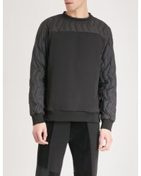 Christopher Raeburn - Quilted Shell And Jersey Sweatshirt - Lyst