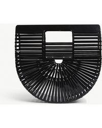 Cult Gaia - Black Vintage Ark Acrylic Clutch Bag - Lyst