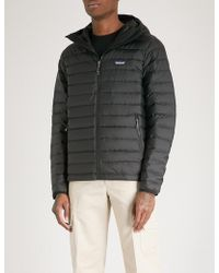 Patagonia - Padded Shell-down Hooded Jacket - Lyst