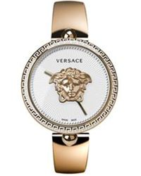 Versace - 675000 Palazzo Empire Rose Gold-plated Stainless Steel Quartz Watch - Lyst