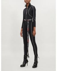 Karl Lagerfeld - Karl Lagerfeld X Kaia Stretch-jersey Catsuit - Lyst
