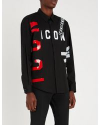 DSquared² - Icon Shirt - Lyst