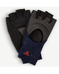 adidas By Stella McCartney - Logo-detail Training Gloves - Lyst