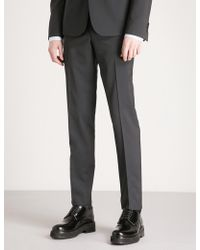 The Kooples - Skinny Wool Trousers - Lyst