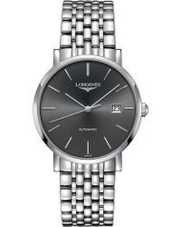 Longines - L4.910.4.72.6 Elegant Stainless Steel Watch - Lyst