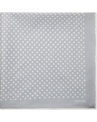 Tom Ford - Polka-dot Silk Pocket Square - Lyst