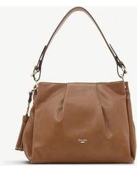 Dune - Tan Brown Danty Tassel Slouch Bag - Lyst