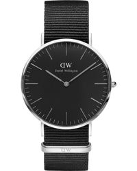 Daniel Wellington - Classic Cornwall Stainless Steel Watch - Lyst