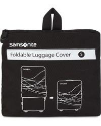 Samsonite - Foldaway Small luggage Cover - Lyst