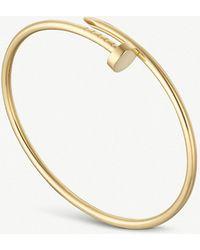 Cartier - Juste Un Clou 18ct Yellow-gold Bracelet - Lyst