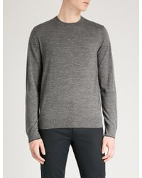 PS by Paul Smith - Marled Merino Wool Jumper - Lyst