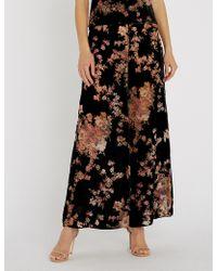 Myla - Kensington Gardens Silk-velvet Trousers - Lyst