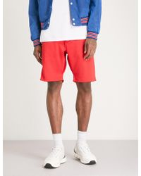 The Kooples - Side-panel Relaxed-fit Jersey Shorts - Lyst