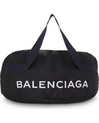 Balenciaga - Nylon Wheel Bag - Lyst