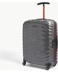 Samsonite - Lite-shock Spinner Four-wheel Cabin Suitcase 55cm - Lyst