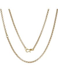 Annoushka - Mythology 18ct Yellow Gold Belcher Chain - Lyst