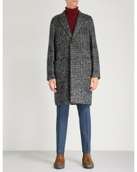 Etro - Textured Knitted Coat - Lyst