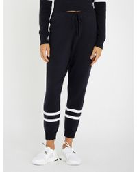 The Upside - Miriam Cropped Knitted Jogging Bottoms - Lyst