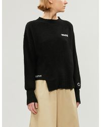 Chocoolate - Logo-print Knitted Jumper - Lyst