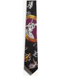 Versace - Cherub Silk Tie - Lyst