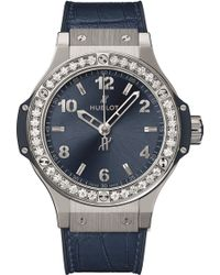 Hublot - 361.sx.7170.lr.1204 Big Bang Automatic Stainless Steel Blue Dial Unisex Watch - Lyst