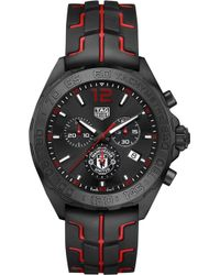 Tag Heuer - Caz101j.ft8027 Formula 1 Manchester United Steel Watch - Lyst