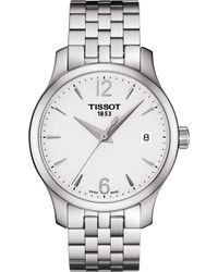 Tissot - T0632101103700 Tradition Stainless Steel Watch - Lyst