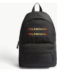 Balenciaga - Explorer Nylon Backpack - Lyst
