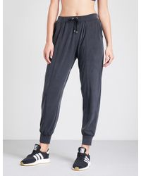 Monreal London - Boyfriend Stretch-woven Jogging Bottoms - Lyst