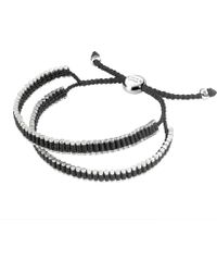 Links of London - Double Wrap Friendship Bracelet - Black - Lyst