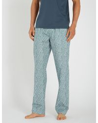 Zimmerli - Floral-print Cotton Pyjama Bottoms - Lyst
