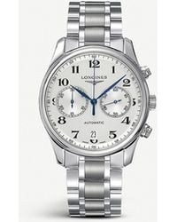 14ada2780af Longines - L2.629.4.78.6 Master Stainless Steel Watch - For Men - Lyst