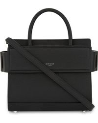 Givenchy - Mini Horizon Grained Calfskin Leather Tote - Lyst