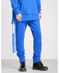 D-ANTIDOTE - X Fila Cotton-jersey Jogging Bottoms - Lyst