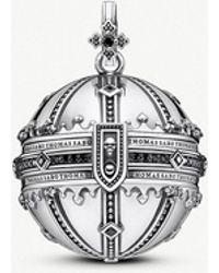 Thomas Sabo - Rebel Kingdom Of Dreams Orb Sterling Silver Pendant - Lyst