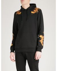 Criminal Damage - Marco Cotton-jersey Hoody - Lyst