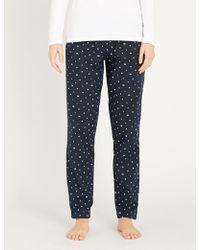Tommy Hilfiger - Logo-covered Cotton Pyjama Bottoms - Lyst