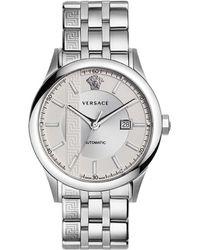 Versace   Aiakos Stainless Steel Watch   Lyst
