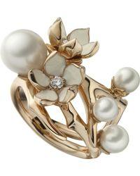 Shaun Leane - Cherry Blossom Rose-gold Vermeil - Lyst