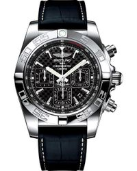 Rado - Ab011012/bf76.296s Chronomat 44 Stainless Steel And Leather Chronograph Watch - Lyst
