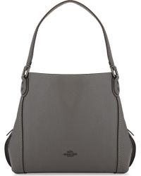 COACH Drifter Floral Cross-body Bag in Black - Lyst 9f877a531112b