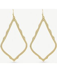 Kendra Scott - Sophee Gold-plated Earrings - Lyst